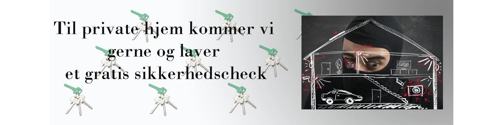 låsesmed sikkerhedscheck