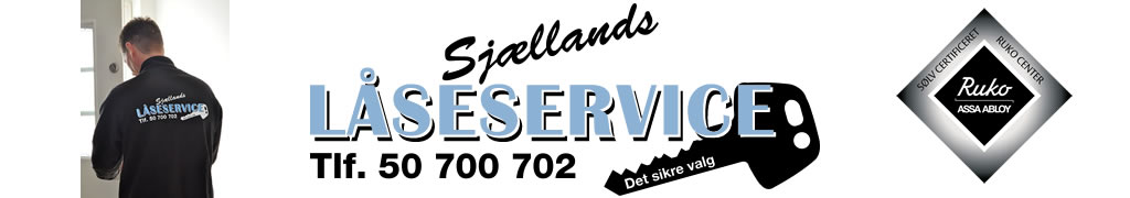 Sjællands Låseservice Logo